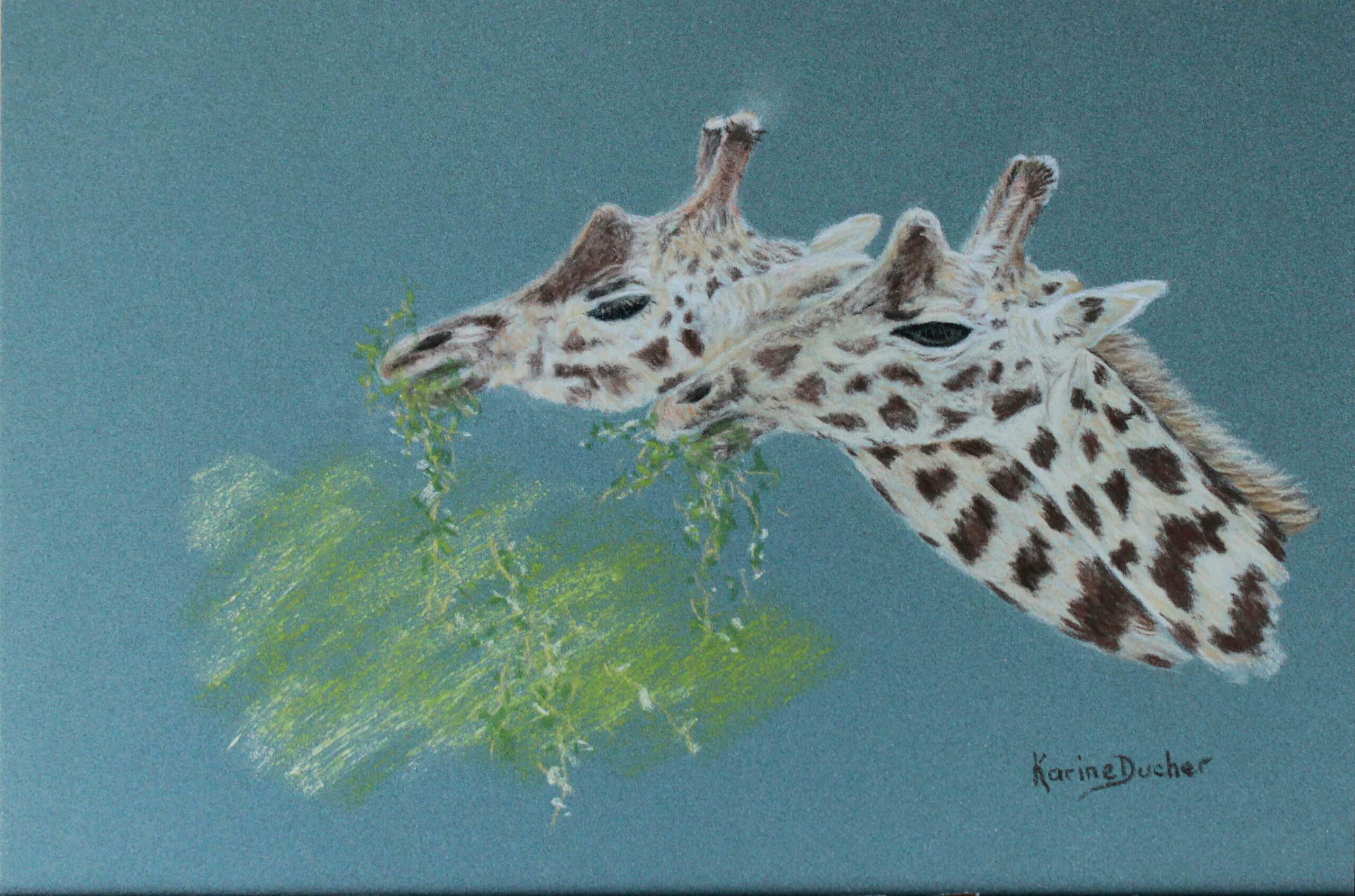 Karine D - Frères – girafes