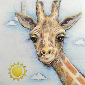 Lia R. – Girafe – Print A5