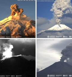 Global Volcanism Program   Popocatépetl [ 1215 x 1615 Pixel ]