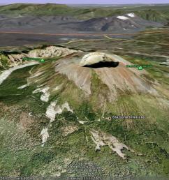 google earth image of vesuvius  [ 1176 x 787 Pixel ]