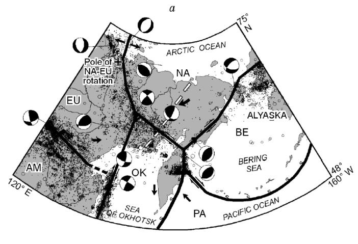 Tectonics of the Kamchatka Peninsula