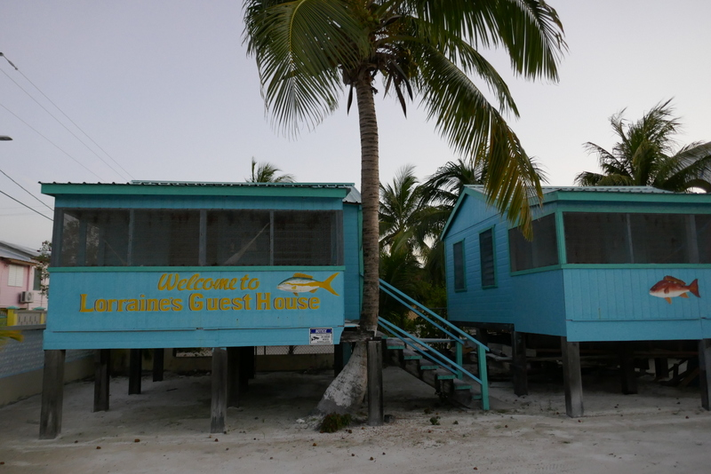 Lorraine's Guest House on Caye Caulker, Belize