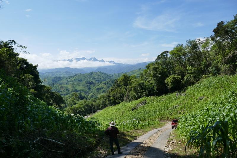 Views near Semuc Champey.