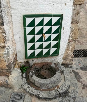Medieval fountain of the Jewish Quarter