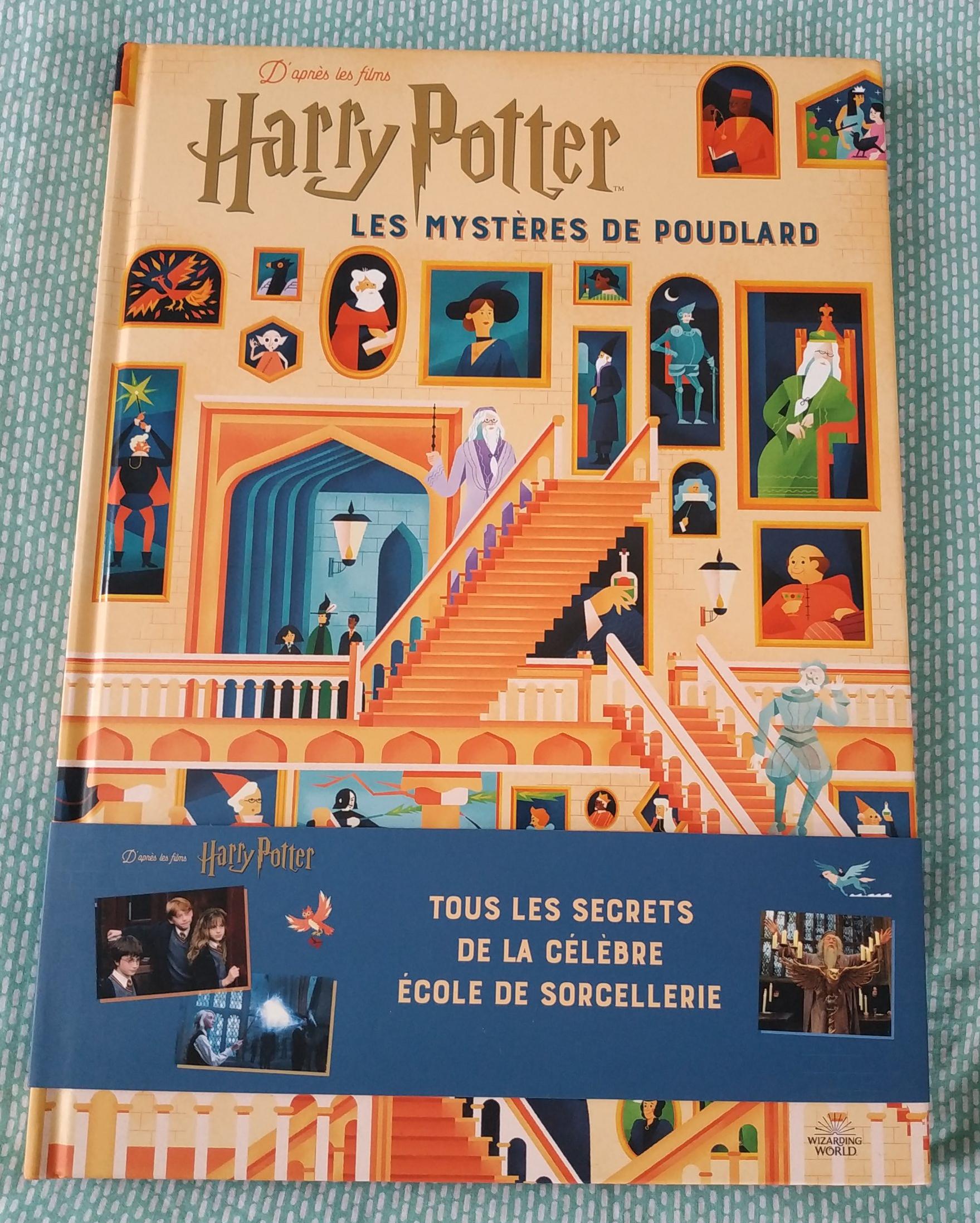Jeu Harry Potter : Secret à Poudlard, magie et énigmes à l