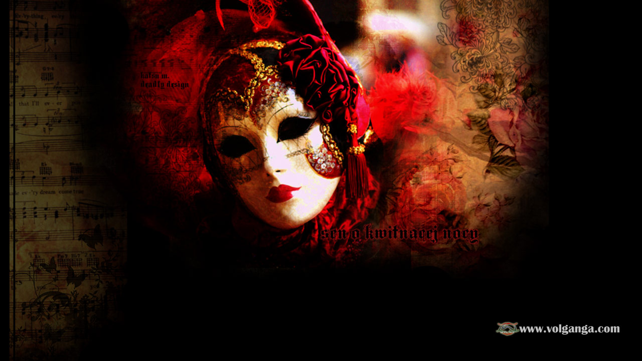 Interesting Wallpaper Quotes Enigmatic Masquerade Masks Wallpaper Collection Volganga