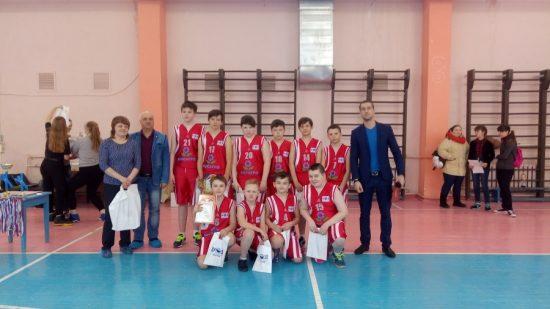 Первенство района по баскетболу