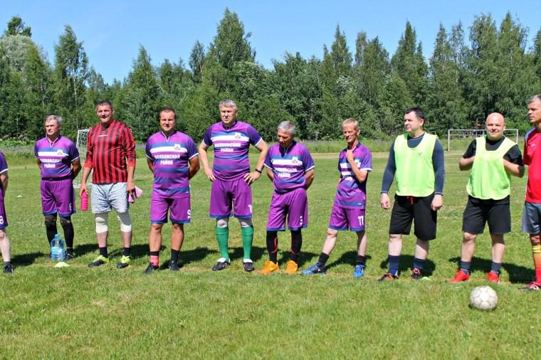 Турнир по футболу среди ветеранов