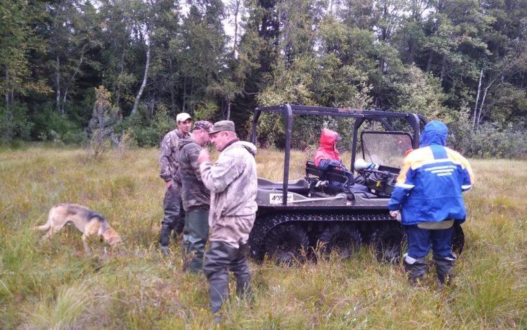Спасатели Новой Ладоги вывели мужчину из леса