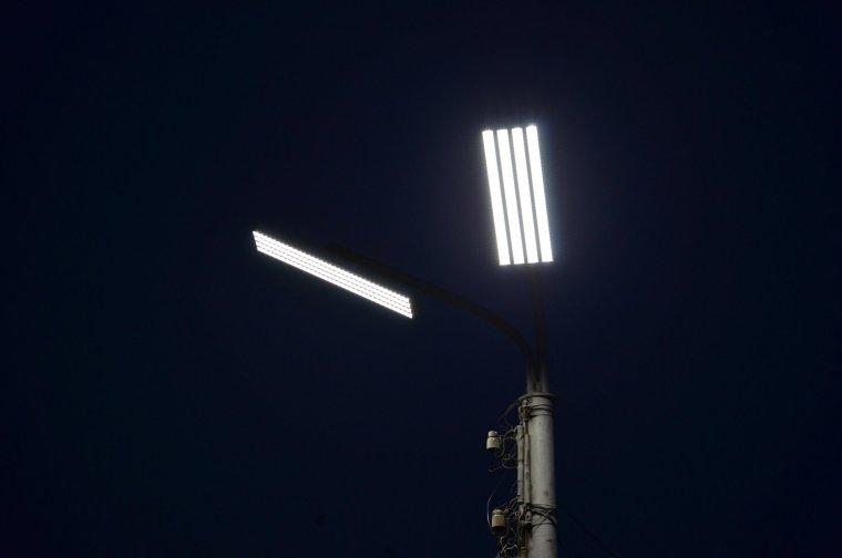 В Свирицком поселении украдены уличные светильники