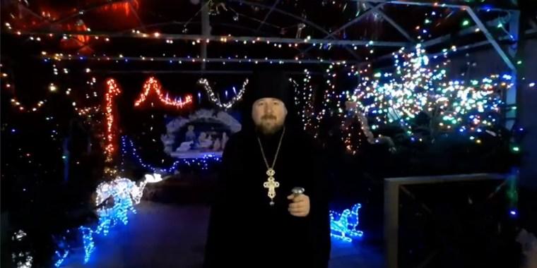 Поздравление игумена Никольского мужского монастыря с Рождеством