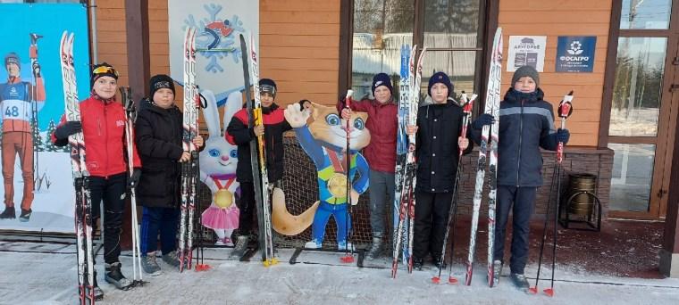 Лыжные выходные учеников Волховской школы № 5