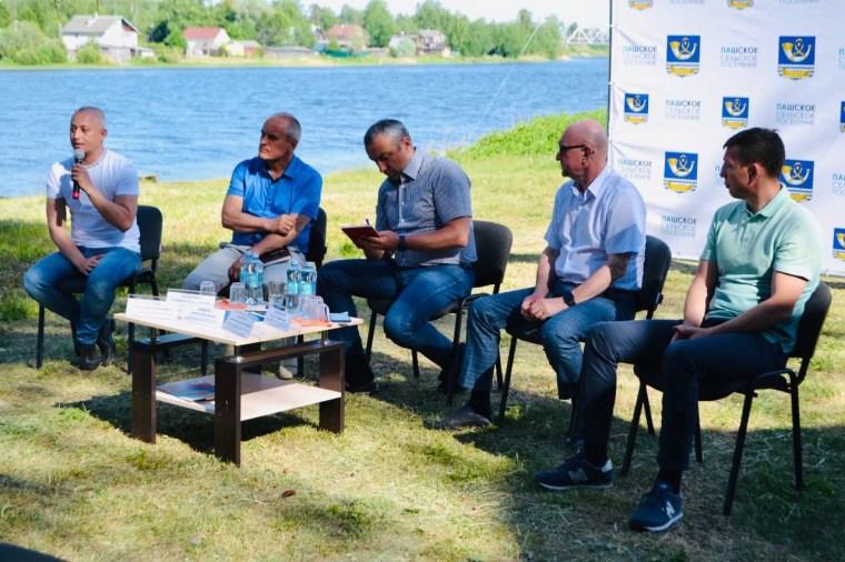 Руководители двух районов встретились в Паше