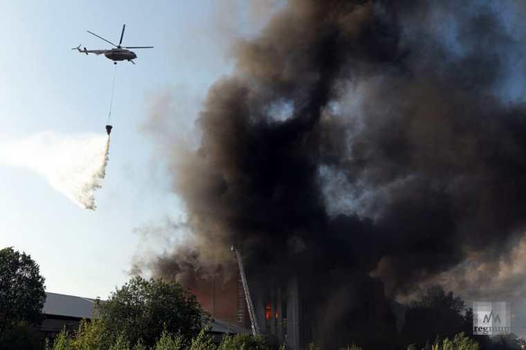 Лесные пожары под контролем