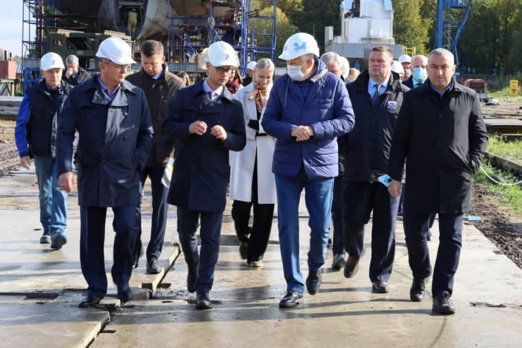 Рабочий визит Губернатора А.Ю. Дрозденко в Волхов