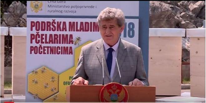 Branislav Đuranović Podrška mladim pčelarima početnicima