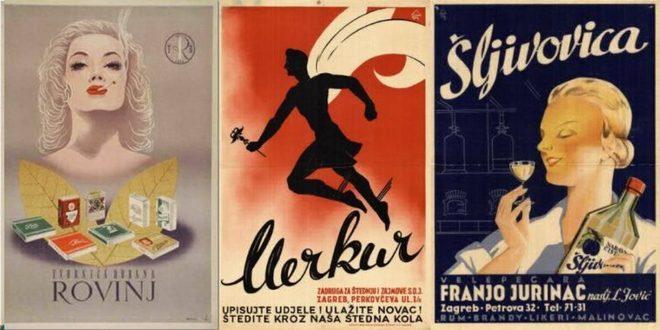 Prelijepi reklamni posteri iz Jugoslavije