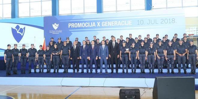 x generacija policijske akademija danilovgrad