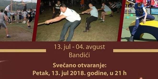 XXII KATUNSKE SPORTSKE IGRE U BANDIĆIMA