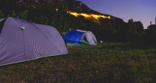 Camping near the monastery Ostrog