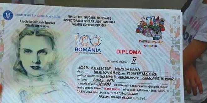 "Pionirski ansambl FA ""Danilovgrad"""