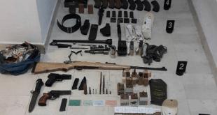 Uhapšen Danilovgrađanin, pronašli mu oružje, municiju, eksploziv i bombu