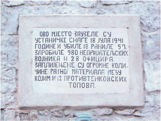Spomenici i Spomen ploče u Danilovgradu
