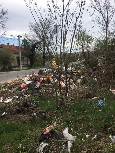 Otpad u blizini Rimanića potoka