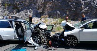 U saobraćajnoj nesreći kod Sozine poginule dvije osobe