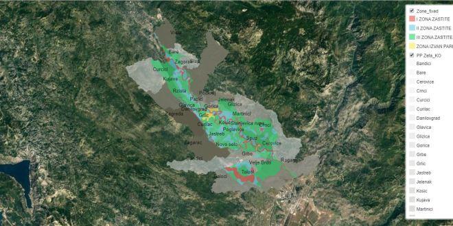 Interaktivna mapa režima zaštite rijeke Zete