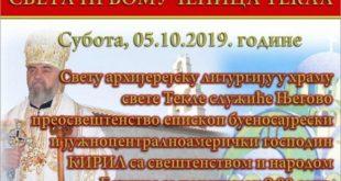 Slava Svete Tekle i Danilovgrada