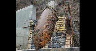 Uklonjena neeksplodirana bomba teška 1000 kilograma