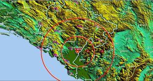 Blaži zemljotres pogodio Crnu Goru, Epicentar 8km od Podhuma