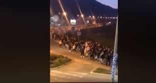 Danilovgrađani dočekali hodočasnike iz Beograda (Video)