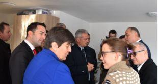 Socijalni stanovi u Spužu, posjeta zvaničnika