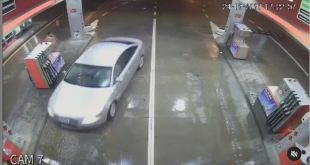 Krađa na benzinskoj pumpi (Video)