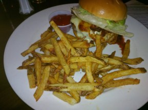 Burger in der Beer Authority New York