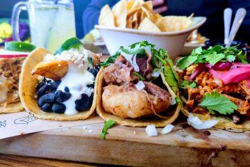 Mittagsmenu Mexiko Strasse