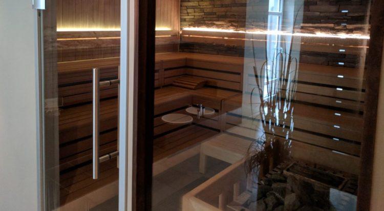 Die Sauna im Hotel Zweite Heimat in St. Peter Ording