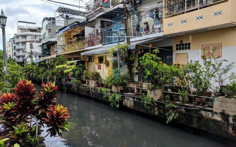 Etwas Entspannung abseits der Strasse Bangkok
