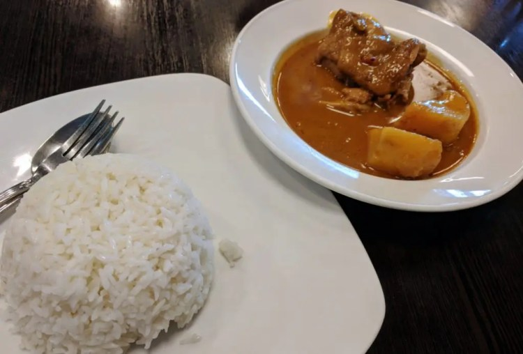 Massaman Curry Thailand
