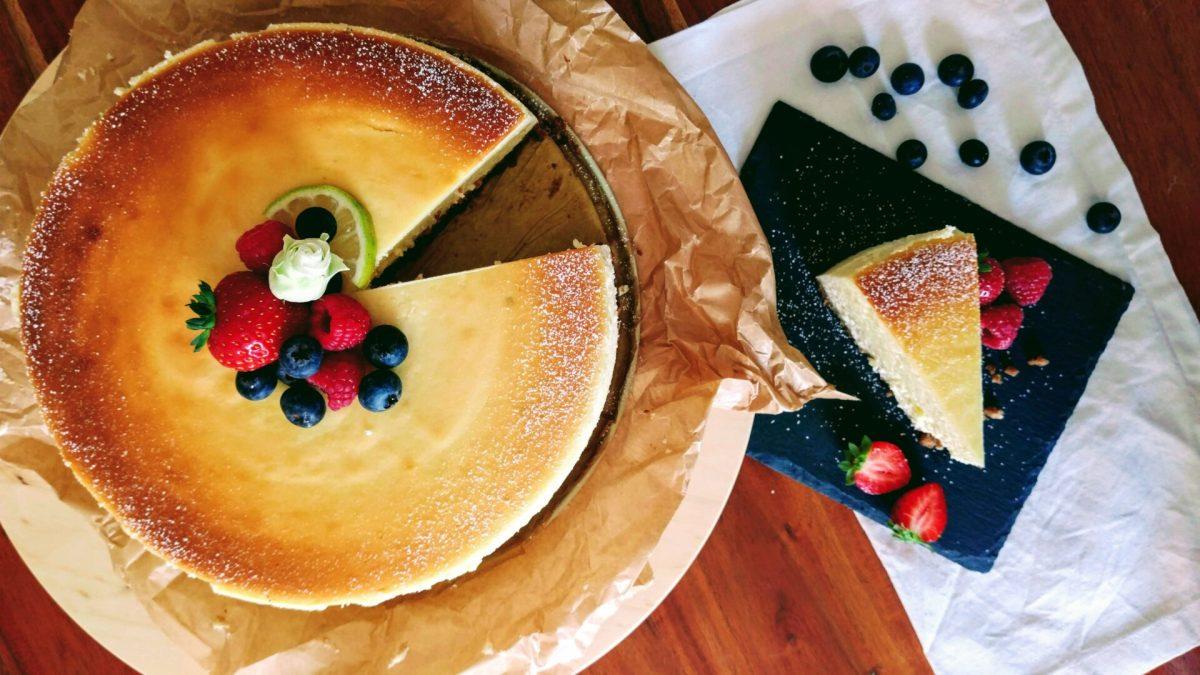 New York Cheesecake deluxe