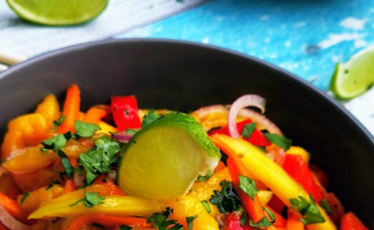 Thailändischer Mango-Salat
