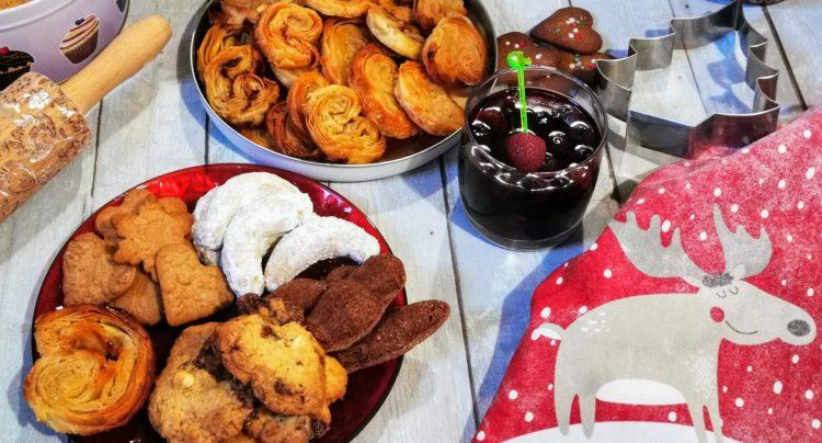 Kekse und Plätzchen aus der Weihnachtsbäckerei