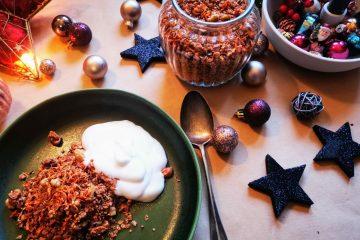 Carrot Cake Granola - vegan und glutenfrei