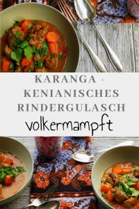 Pinterest Karanga - Kenianisches Rindergulasch