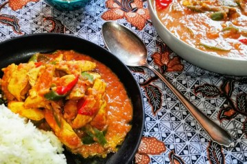 Ginger Chicken - Ingwer Curry mit Hähnchen nach Kitchen Impossible