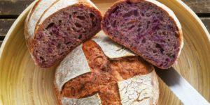 Lila Möhren brot - mit Hefe oder Sauerteig
