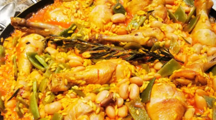 Paella Valenciana nach Kitchen Impossible Detail