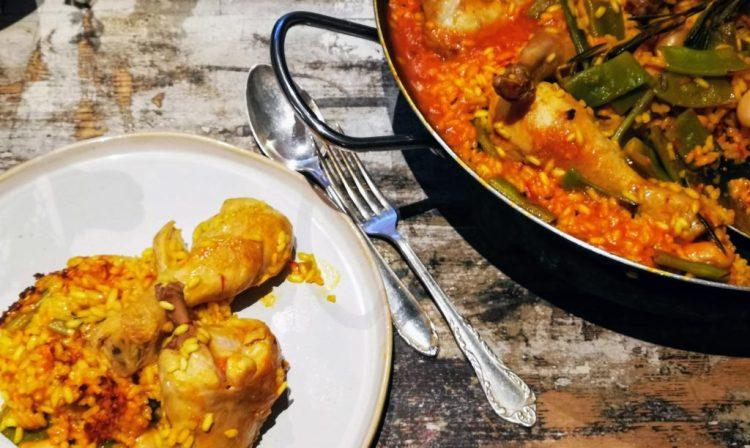 Paella Valenciana nach Kitchen Impossible Teller